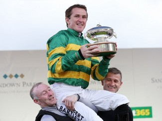 Tony McCoy has his family by his side for his final day of race riding