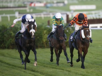 Kingswell Theatre (black cap) stays on strongly