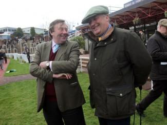 Trainers Nicky Henderson (left) and Paul Nicholls (right)