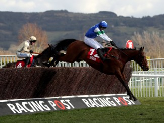 Coo Star Sivola and Lizzie Kelly on their way to Cheltenham Festival glory