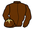 Jockey silk for Top Notch Tonto