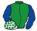 Jockey silk for Be Lucky