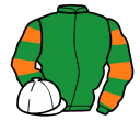 Jockey silk for Upsie