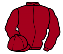 Jockey silk for Sacred Act