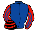 Jockey silk for Bear's Affair