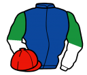 Jockey silk for Jay Bee Blue