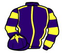 Jockey silk for Aussie Andre