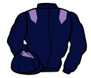 dark blue, mauve epaulets and diamond on cap