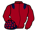 Jockey silk for Coldstream