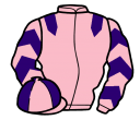pink, purple epaulets, chevrons on sleeves, quartered cap