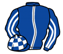 Jockey silk for Mr Bachster
