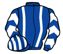 Jockey silk for Sun On The Run