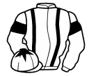 Jockey silk for Amelia Jay