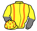 Jockey silk for Glenwood Prince