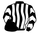 black and white stripes, chevrons on sleeves