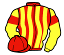 Jockey silk for Rockchasebullett