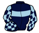Jockey silk for Diamond King