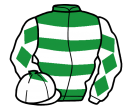 Jockey silk for Al Khan