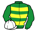 Jockey silk for Mr Mole
