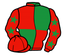 Jockey silk for Countersign