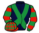 Jockey silk for Marky Bob