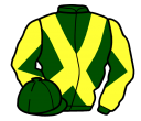 Jockey silk for Foggy's Wall