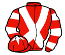 Jockey silk for Sergeant Thunder