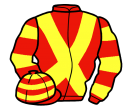 Jockey silk for Un Guet Apens