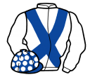 Jockey silk for Caulfields Venture