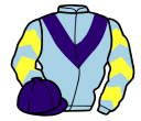 Jockey silk for Oh Right