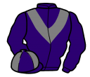 Jockey silk for Billy Blue
