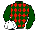 Jockey silk for Not For Burning