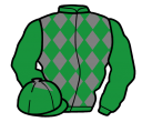 Jockey silk for De Blacksmith