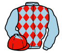 Jockey silk for Red Runaway
