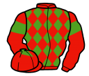 Jockey silk for New Bidder