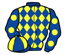 Jockey silk for Diplomatic