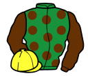 Jockey silk for Plum Pudding