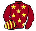 Jockey silk for Never Complain