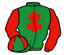 Jockey silk for Fathom Five