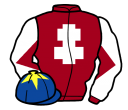 Jockey silk for Enter The Red