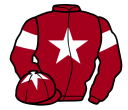 Jockey silk for Rough Justice