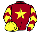 Jockey silk for The Unsub