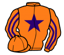 Jockey silk for Duc de Seville