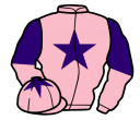 pink, purple star, halved sleeves and star on cap