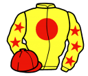 Jockey silk for Reassert