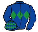 Jockey silk for Hurricane Fly